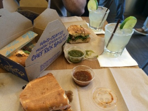 Mexican Tortas from Frontera at Chicago O'Hare aiport. The only legit airpot food I've ever had.